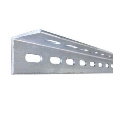 China supplier wholesale construction ASTM hot dip galvanized perforated angle iron metal mild equal steel angle bar