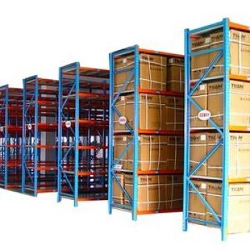 Steel multitier rack for warehouse space saving solutions